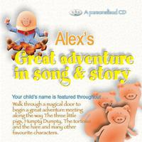Alex's Great Adventure In Song & Story packshot