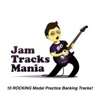 10 Rocking Modal Practice Backing Tracks! packshot