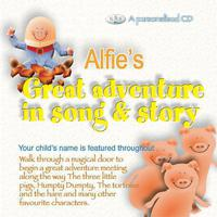 Alfie's Great Adventure In Song & Story packshot