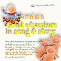 Amelia's Great Adventure In Song & Story packshot