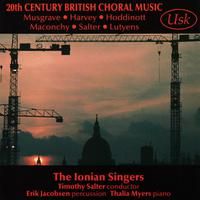 20th Century British Choral Music packshot