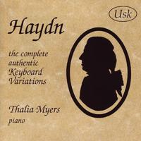 Haydn - The Complete Authentic Keyboard Variations packshot