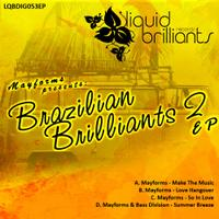 Brazilian Brilliants 2 - EP packshot