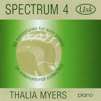 Spectrum 4: 66 Miniatures for Solo Piano packshot