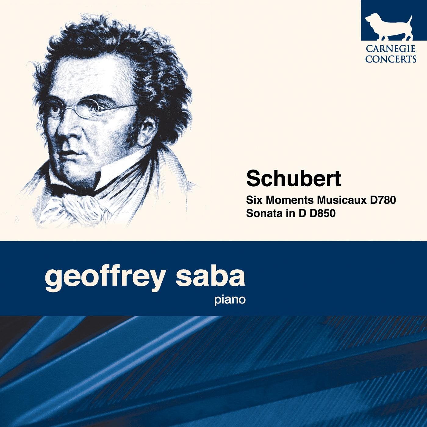 Franz Schubert: Six Moments Musicaux D780 & Sonata in D D850