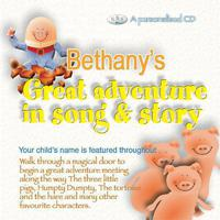 Bethany's Great Adventure In Song & Story packshot