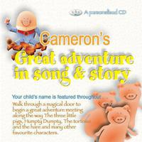 Cameron's Great Adventure In Song & Story packshot