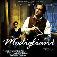 Modigliani: Music from the Original Motion Picture packshot