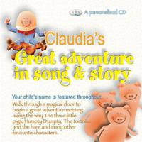 Claudia's Great Adventure In Song & Story packshot
